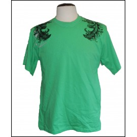 QSilver Green Adult T-shirt clothing protector