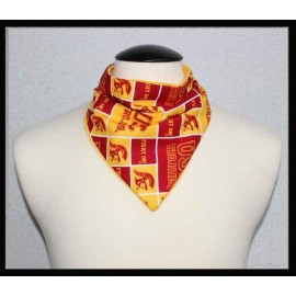 USC Fan Cotton & Yellow Bamboo Velour Petite Scarf