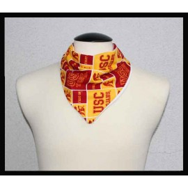 USC Fan Cotton & Dye-free Bamboo Terry Petite Scarf