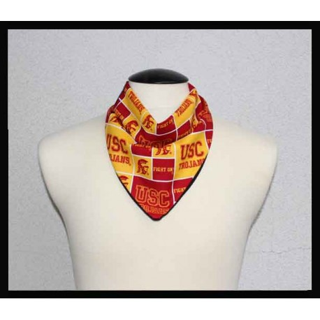 USC Fan Cotton & Black Bamboo Jersey Petite Scarf