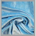 Bamboo Velour - Powder Blue - 1 yard