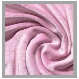 Bamboo Velour - Light Pink - 1 yard