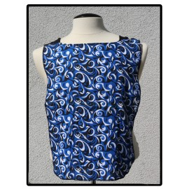 LaLa Clothing Protector_Blue Swirl